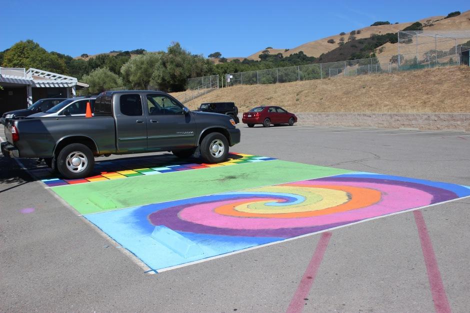 parking spots 2 color