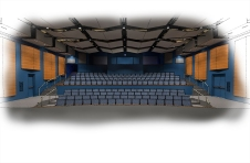 SMHS PAC - Theater Stage Looking Out - Render 150